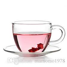 2018 80ml heat resistant glass tea cups and saucers coffee milk