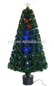 Christmas Tree With Optical Fiber Lights - 2 1m christmas tree with optical fiber light led spiral christmas