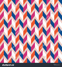 seamless geometric rhombic pattern color trends stock vector