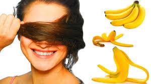banana hair the benefits of banana peel for hair