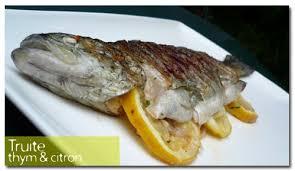 cuisiner truite au four truite au grill thym citron s kitchen