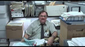 Milton Meme - high quality office space blank meme template milton office space