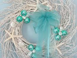 coastal christmas ornaments u2013 turquoise christmas decorations