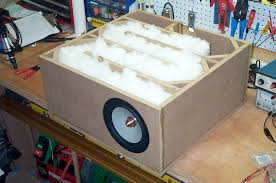 Bass Speaker Cabinet Design Plans Diy Esl U0027s Verison 1 0