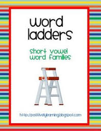 after activity word ladders printable free word