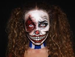 killer clown makeup halloween