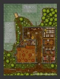 Map Generator D D Slipshod Inn U0026 Tavern Free Fantasy Maps