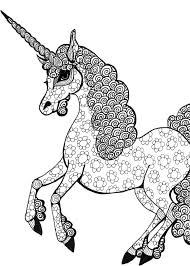 daily art drawing of a unicorn eclectic cycle