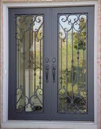 Secure French Doors - best 25 wrought iron security doors ideas on pinterest security