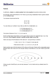 factors and multiples worksheet free worksheets library download