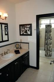 black and white shower curtain the best home design