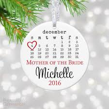 personalized wedding ornament christmas ornaments personalized gift market