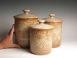 brown kitchen canister sets canister sets brent smith pottery brent smith pottery