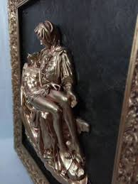 statue with pieta ct copper statue with frame manufacturer supplier in jodhpur india