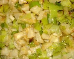 cuisiner le celeri le mariage poireaux céleri en poêlée ou en gratin mercredirose
