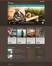 Fishing Template fishing responsive joomla template 58020