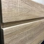 750mm Wall Hung Vanity Asti 750mm White Oak Pvc Thermal Foil Timber Wood Grain Wall