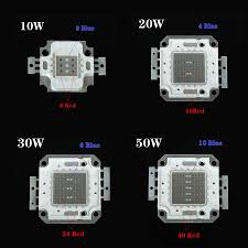 Outdoor Grow Lights 2016 Brand New Outdoor Led Blue 460nm Red 660nm High Power 30w 50w