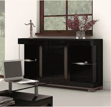 table with glass doors black sideboard cabinet sideboard table 2 glass doors 4 drawers