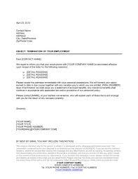 employee dismissal letter template u0026 sample form biztree com
