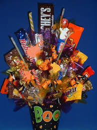 monroetalks com halloween candy bouquet arrangement