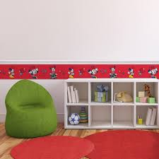 Wallpaper Border Designs Minnie Mouse Self Adhesive 6