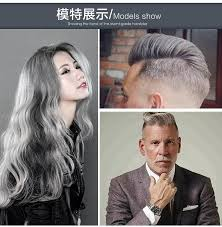 japanesse women with grey hair silver wax 120ml men women professional hair pomades moisturizing
