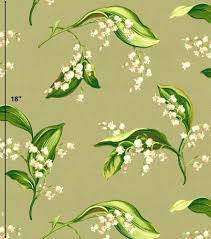 Williamsburg Home Decor Colonial Williamsburg Lilies Of The Valley Shale Designer Home