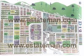 Islamabad Map Sector D 12 Islamabad