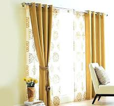 Curtains On Patio Window Treatment Ideas For Sliding Glass Doors Sliding Glass Door