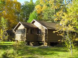 Cottages In Canada Ontario by Modernized Log Cabins Ontario Canada Wenasaga Lodge