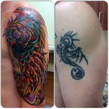 tribal cover up designs cover up of tribal with bold