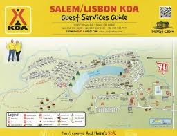 Salem Oregon Map by Salem Ohio Campground Salem Lisbon Ohio Koa