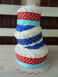 diaper cake tutorial plus a