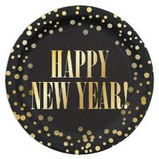 new year plates new years plates zazzle