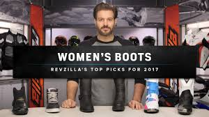 women s street motorcycle boots best women u0027s motorcycle boots u0026 shoes 2017 at revzilla com youtube