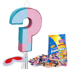 Walmart Baby Shower Decorations Gender Reveal Pinata Kit Each Baby Shower Party Supplies