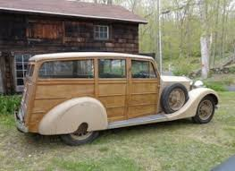 wood panel jeep down the shooting brake