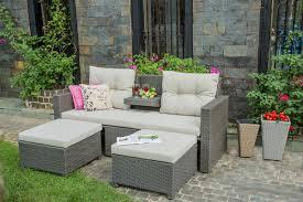 canape resine exterieur canapé de jardin en résine tressée canapé extérieur en résine
