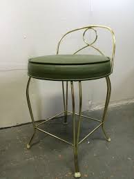 classic and artistic padded bathroom vanity chair design