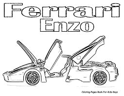 ferrari coloring pages printable pages a colorier