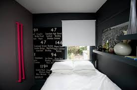 grey walls color accents gorgeous small modern bedroom interior and decoration styles black