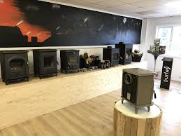 still and sons wood burner showroom in great staughton