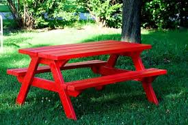 Plans Building Wooden Picnic Tables by Ana White How To Build An Picnic Table Diy Projects