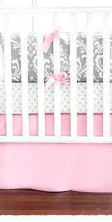 Pink And Brown Damask Crib Bedding Pink Damask Baby Bedding Pink And Brown Damask Crib Bedding Hamze