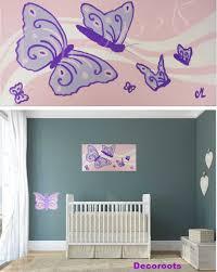 chambre bébé papillon charmant deco chambre bebe fille papillon et tableau enfant ba