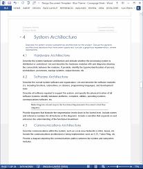design document samples
