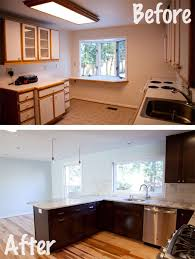 kitchen renovations ideas kitchen renovation before and after wolfbuilding kitchen