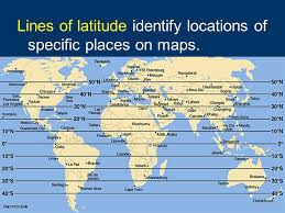 latitude map 7 3 spi 6 locate on a map specific lines of longitude and