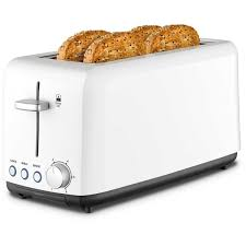 Superhero Toaster Kambrook Wide Slot 4 Slice White Toaster Kta140wht Big W